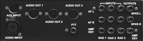 IPlus Audio Switch - Rear