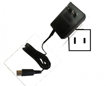 Replacement EQ Wall Power Supply - Type A - 110 to 120 VAC 50/60 Hz