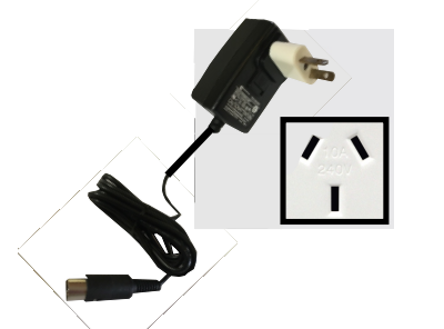 Replacement EQ Wall Power Supply - Type I - 100 to 240 VAC 50/60 Hz